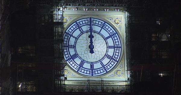 سال نو در انگلیس: ساعت بیگ بن زنگ می خورد اما هیچ کس در خیابان نیست