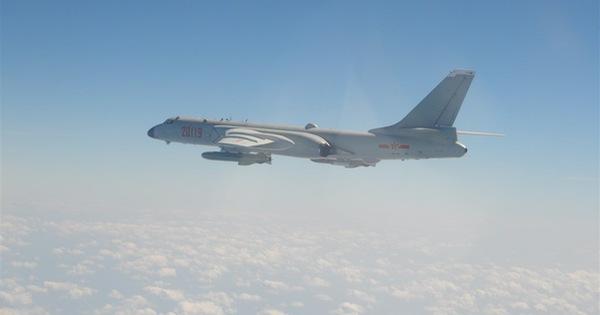رفتار عجیب 11 هواپیمای نظامی چین در نزدیکی جزیره تایوان